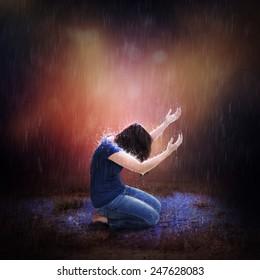 Pray Rain Stock Photos, Images & Photography | Shutterstock