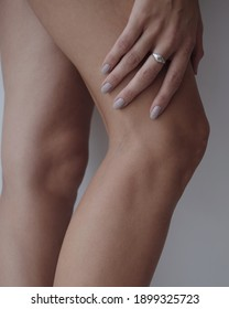 woman legs with no retouch