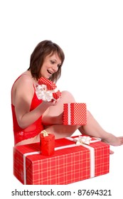 woman in lingerie gifts