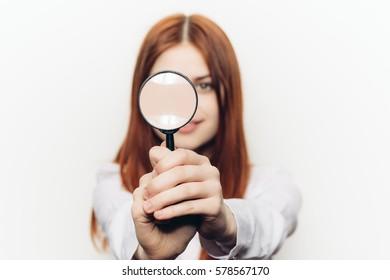 Woman magnifier
