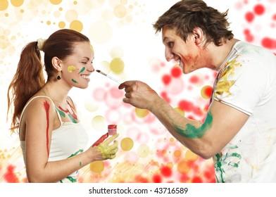 As a woman man brush