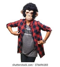 woman monkey custome