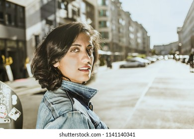Woman Portrait in the City