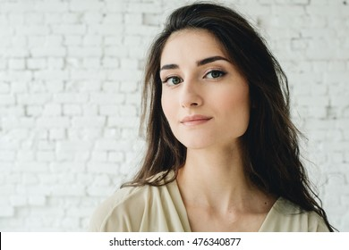 Woman portrait natural beautiful