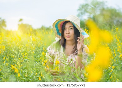 Hemp Flower Dress