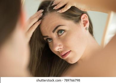 Woman problem hair Woman problem hair