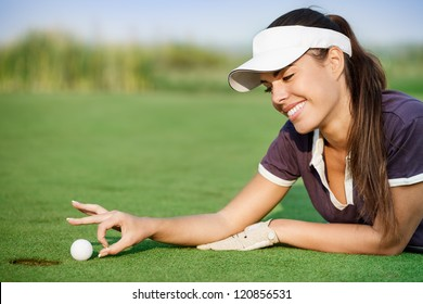 Woman Funny Golf Images Stock Photos Vectors Shutterstock