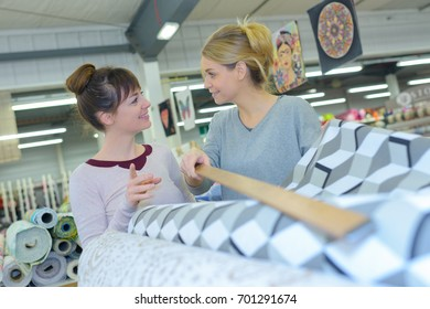 Woman reaching for product wth stick