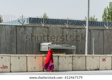 Woman Red Head Scarf Walking Front Stock Photo (Edit Now) 612467579 on concrete drywall, concrete mirrors, concrete connections, concrete doors, concrete audio, concrete pipes, concrete components, concrete accessories, concrete furniture, concrete framing, concrete controller, concrete hardware, concrete tools,