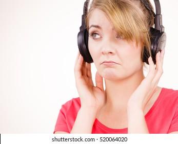 Sad Headphones Images, Stock Photos & Vectors | Shutterstock