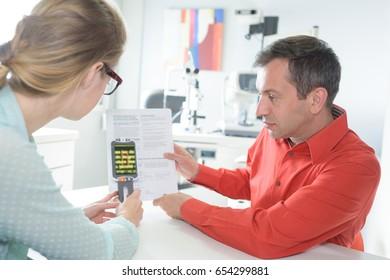 woman scanning voucher code
