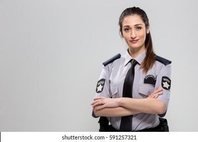 Woman Security Guard