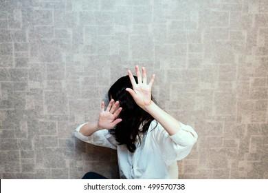 Woman seeking help