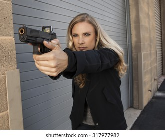 Woman shooter defending herself | REFUSE TO BE A VICTIM Collection