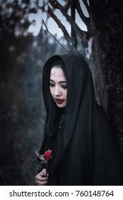 woman sorceress