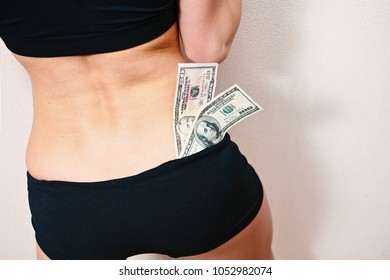 Woman Stripper Or Playing Role In Sexual Game