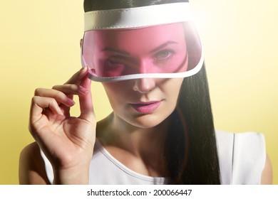 d69ef36b Sun Visor Images, Stock Photos & Vectors | Shutterstock