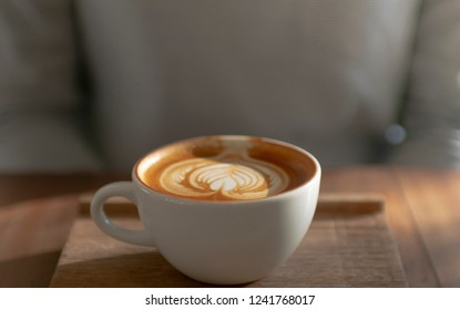Woman take a coffee at cafe