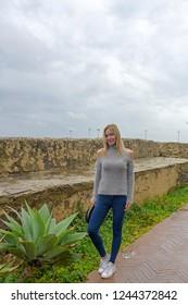 Woman in Tarifa