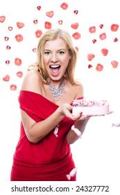 woman throw up chocolate,valentine day