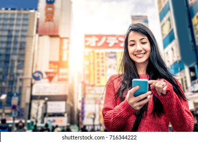 Woman in Tokyo