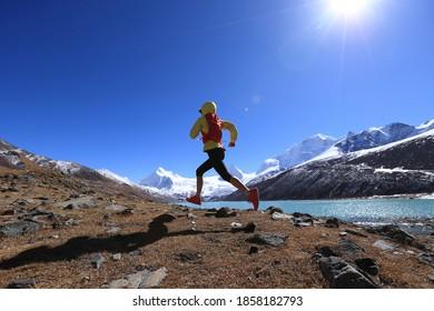 Frauenwanderweg Langlaufloipe im Wintergebirge
