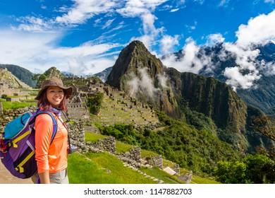 A Woman trek to Machu Picchu, New 7 woder of the World - Peru