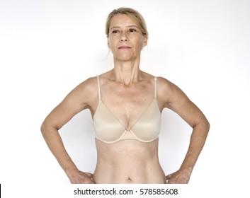 Woman Underwear Naked Show Body