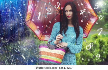Woman, Universe and numerology
