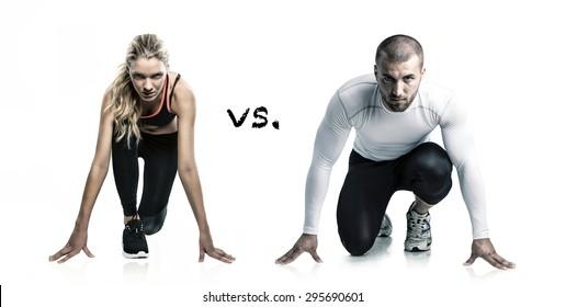 man vs girl