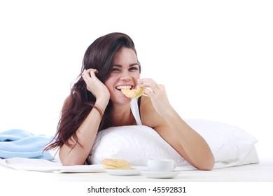 woman wake