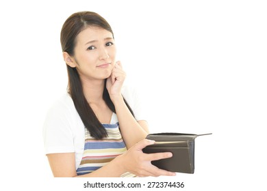 Woman with a wallet