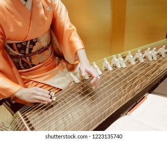 Immagini, foto stock e grafica vettoriale a tema Japanese Koto