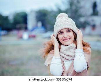 Woman Winter portrait