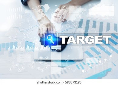 Woman working with documents, tablet pc and selecting target.