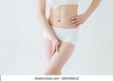 A woman's body