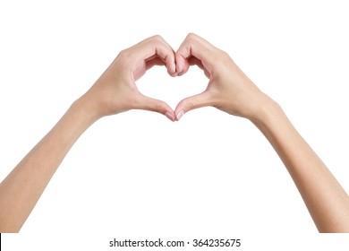 Heart Shaped Hands Images, Stock Photos & Vectors | Shutterstock
