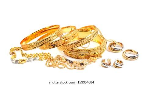 Gold Jewellery Images Stock Photos Vectors Shutterstock