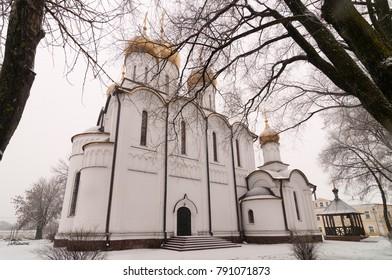Woman's Monastery in Pereslavl-Zalesskiy, Yaroslavl region, Russia