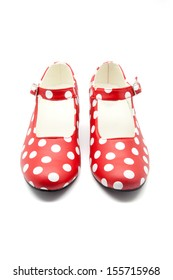 woman's shoes to dance flamenco