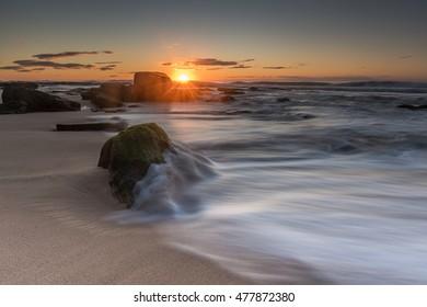 Wombarra Beach near Sydney