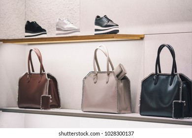 Women bag in a store in Milan