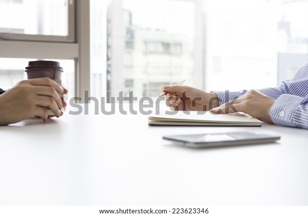 Women to be interviewed in the office