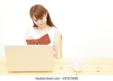 Women, business image