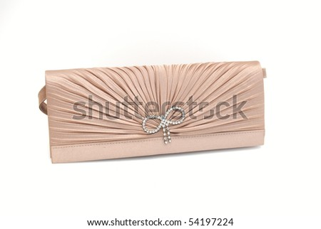 8b7483ac Women Clutch Bag Isolated On White Stock Photo (Edit Now) 54197224 ...