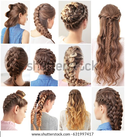 making of hair style different hairstyles stock photo edit now 6868 | women different hairstyles 450w 631997417