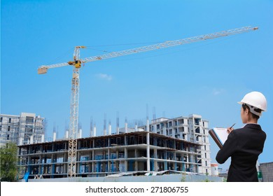 Women Engineers and construction