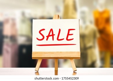 Women fashion and signs for sale