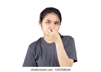 Women feel foul smelling , Feeling bored with the smell .