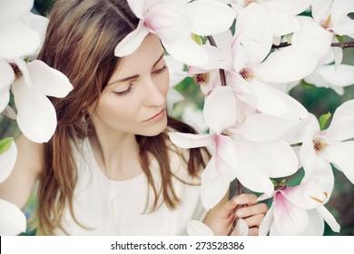 women flowers